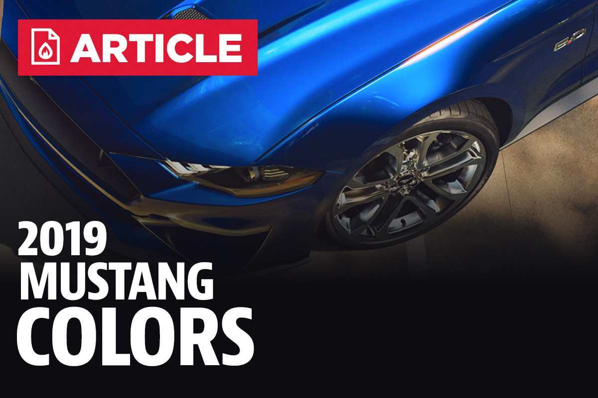15 Great 2019 Ford Mustang Colors Reviews for 2019 Ford Mustang Colors