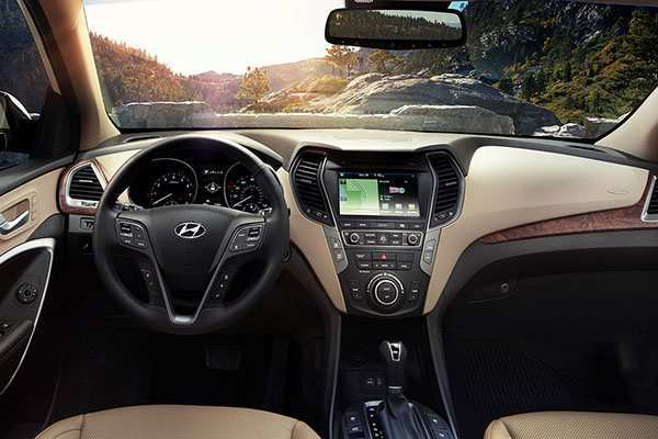 15 Great 2019 Hyundai Santa Fe Interior Model with 2019 Hyundai Santa Fe Interior