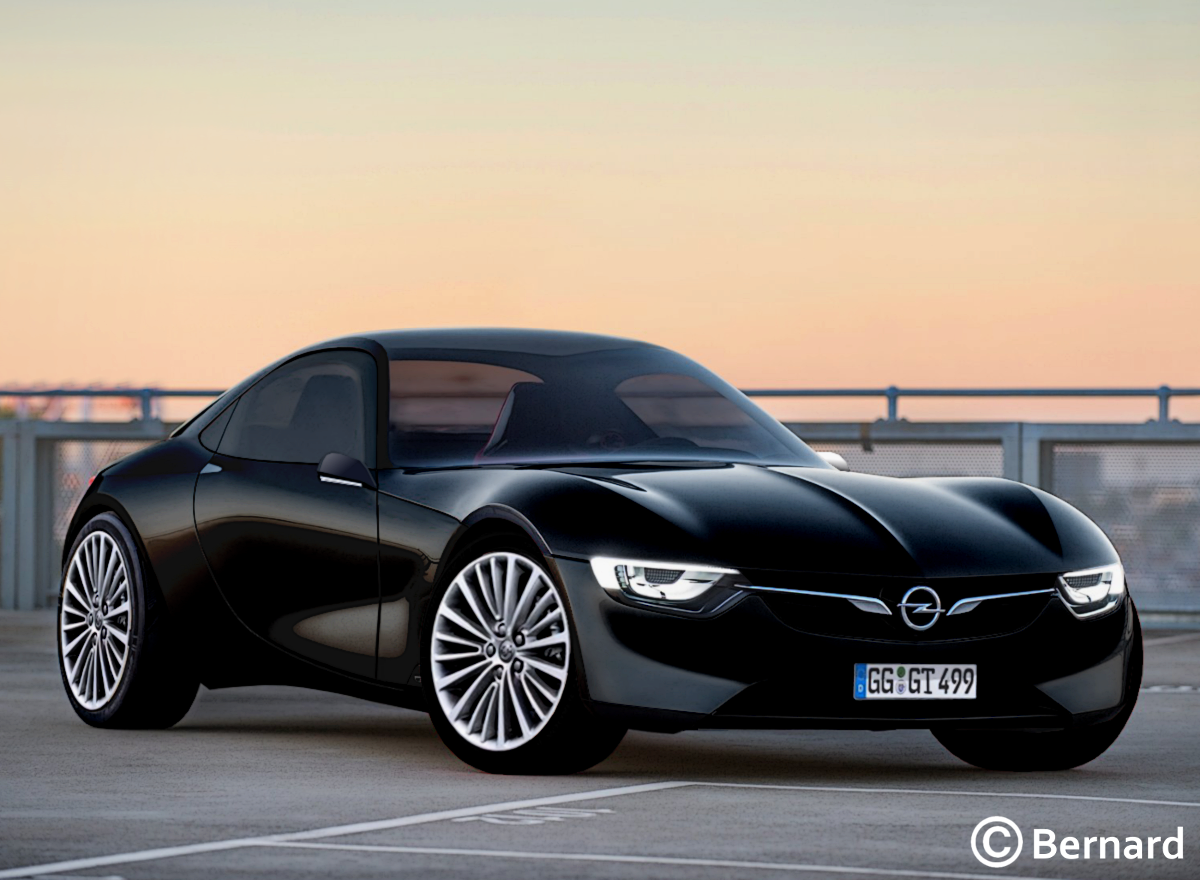 15 Great 2019 Opel Gt Pictures with 2019 Opel Gt