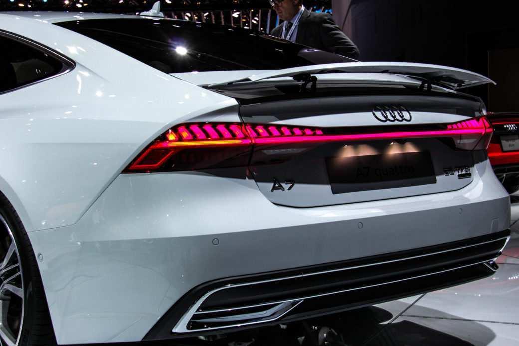 15 New 2019 Audi A7 Frankfurt Auto Show Engine by 2019 Audi A7 Frankfurt Auto Show