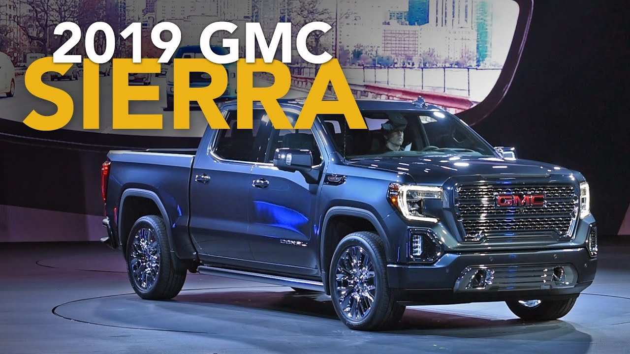 15 New 2019 Gmc Sierra Release Date First Drive by 2019 Gmc Sierra Release Date