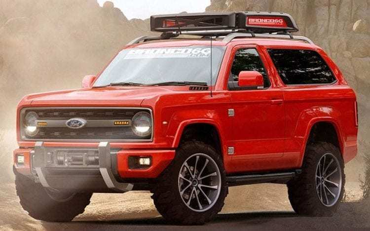 15 New 2020 Ford Bronco With Removable Top Overview with 2020 Ford Bronco With Removable Top