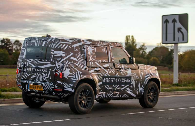 16 All New New Land Rover Defender 2020 Ratings for New Land Rover Defender 2020