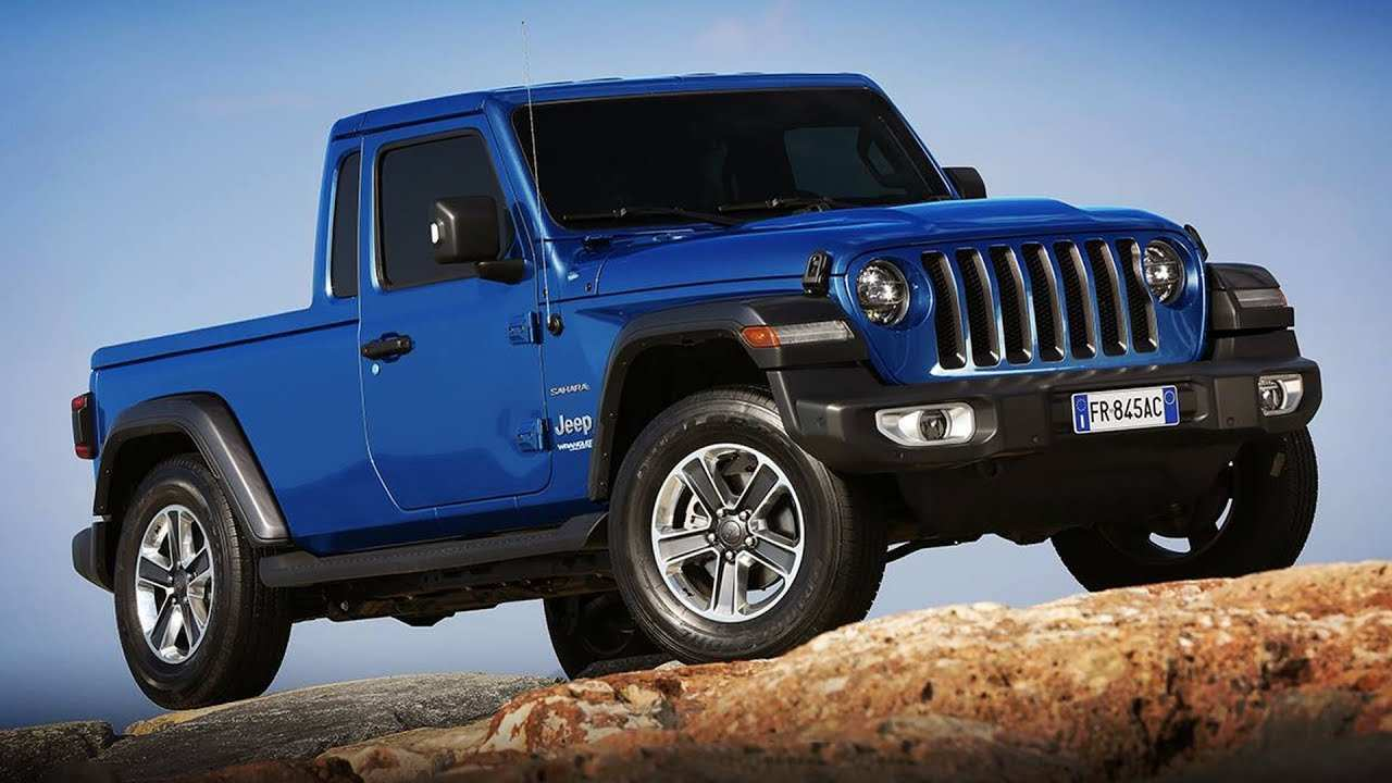 16 Concept of 2019 Jeep Pickup Overview with 2019 Jeep Pickup