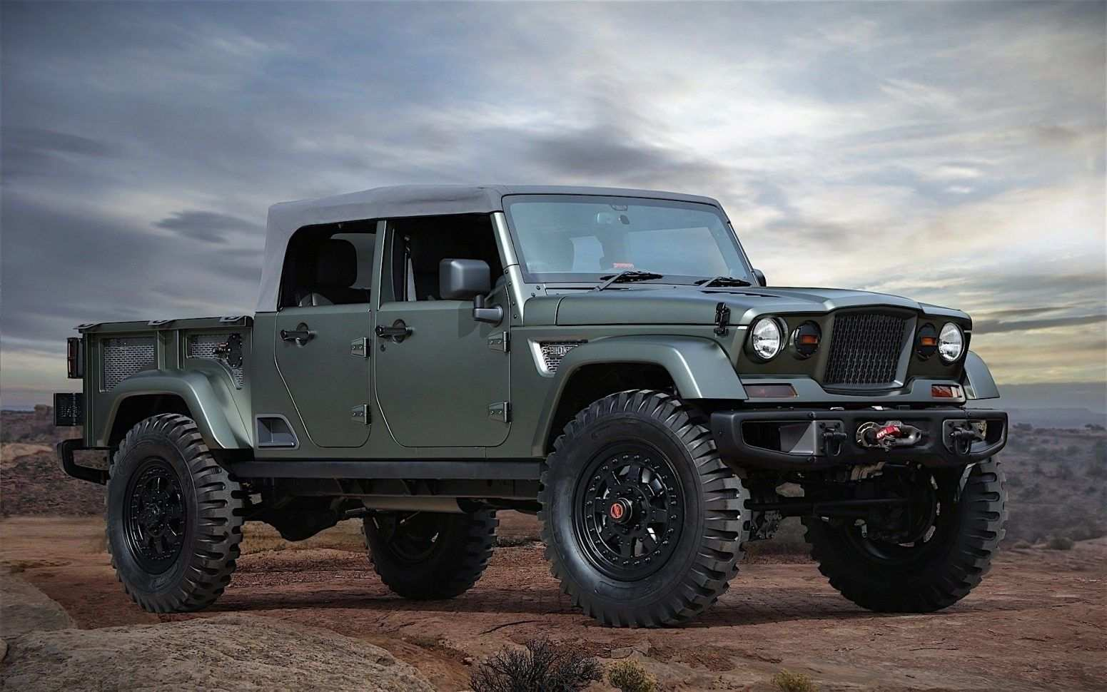 16 Gallery of 2019 Jeep Gladiator Engine by 2019 Jeep Gladiator