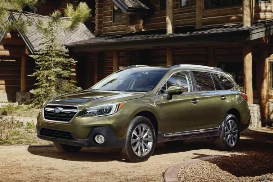 17 All New 2019 Subaru Redesign Spy Shoot by 2019 Subaru Redesign