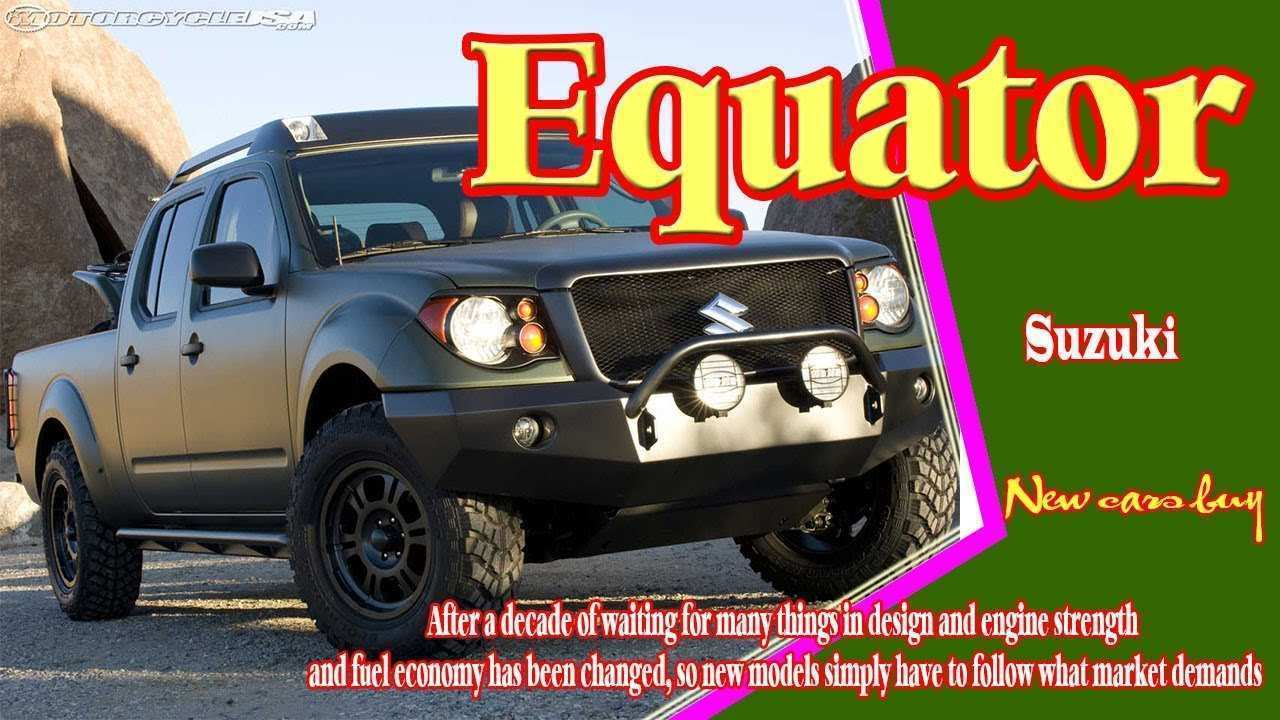 17 All New 2019 Suzuki Equator Wallpaper by 2019 Suzuki Equator