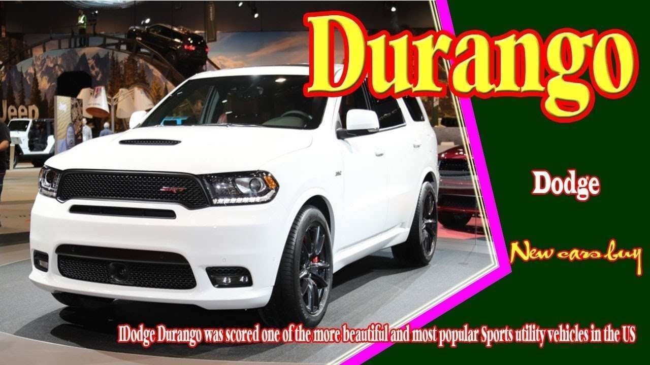 17 Best Review 2020 Dodge Durango Redesign Picture by 2020 Dodge Durango Redesign