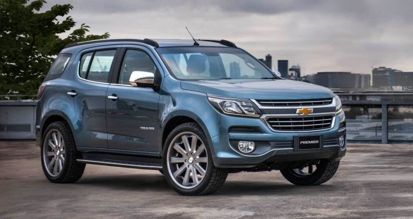 17 Concept of 2019 Chevrolet Trailblazer Overview with 2019 Chevrolet Trailblazer