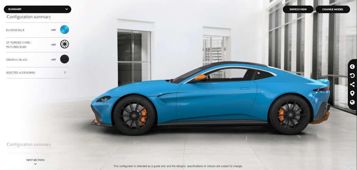 17 New 2019 Aston Martin Vantage Configurator Images with 2019 Aston Martin Vantage Configurator