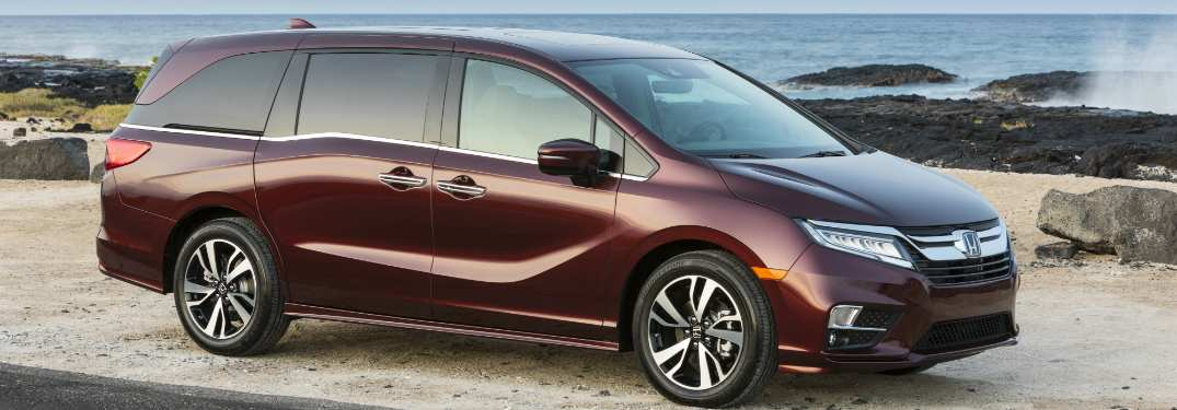 17 New 2019 Honda Odyssey Release First Drive for 2019 Honda Odyssey Release