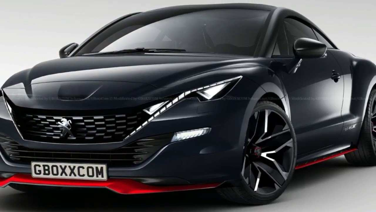 17 The Peugeot Coupe 2019 Spy Shoot with Peugeot Coupe 2019