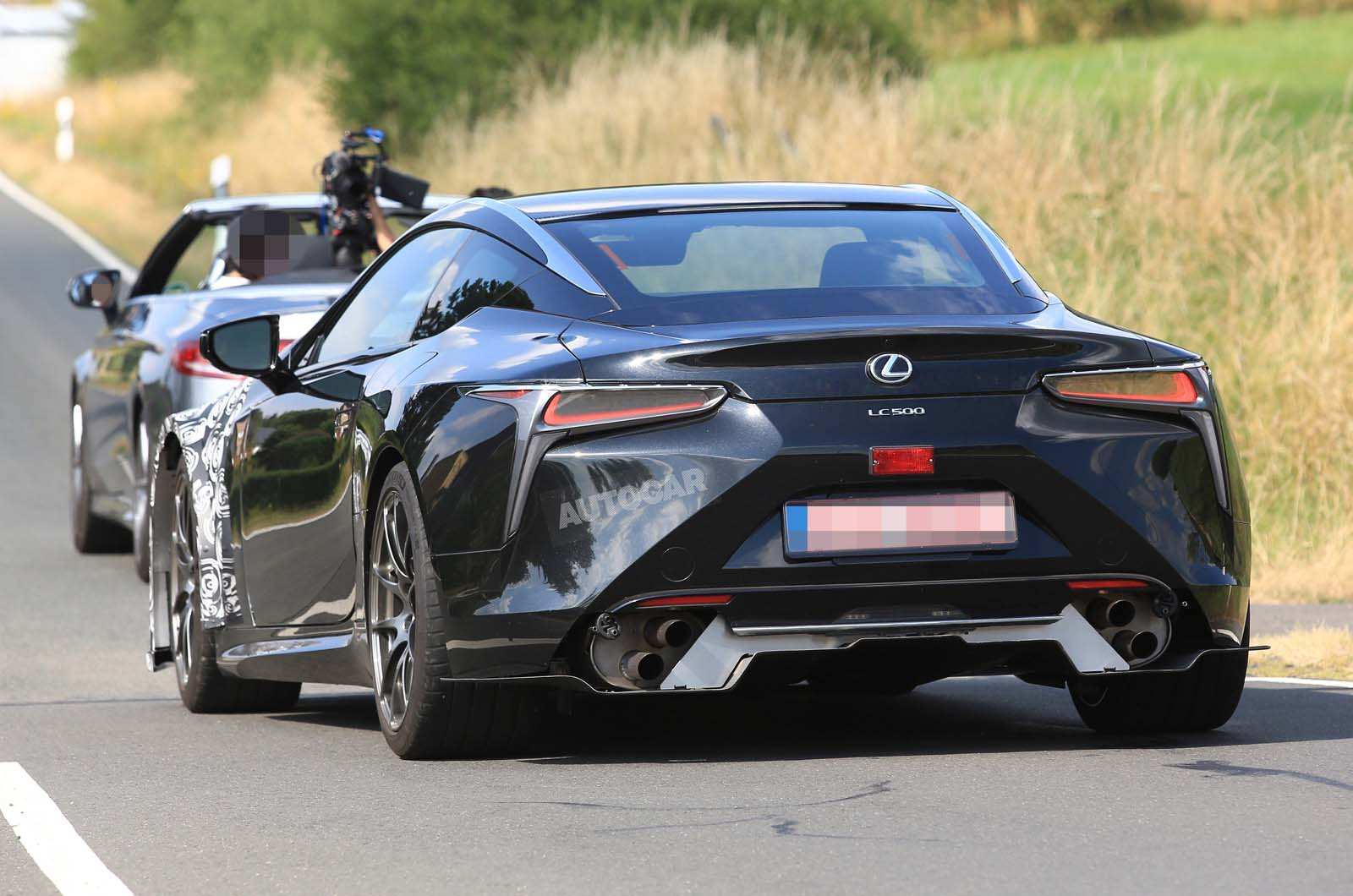 18 All New 2019 Lexus Lc F Spy Shoot by 2019 Lexus Lc F