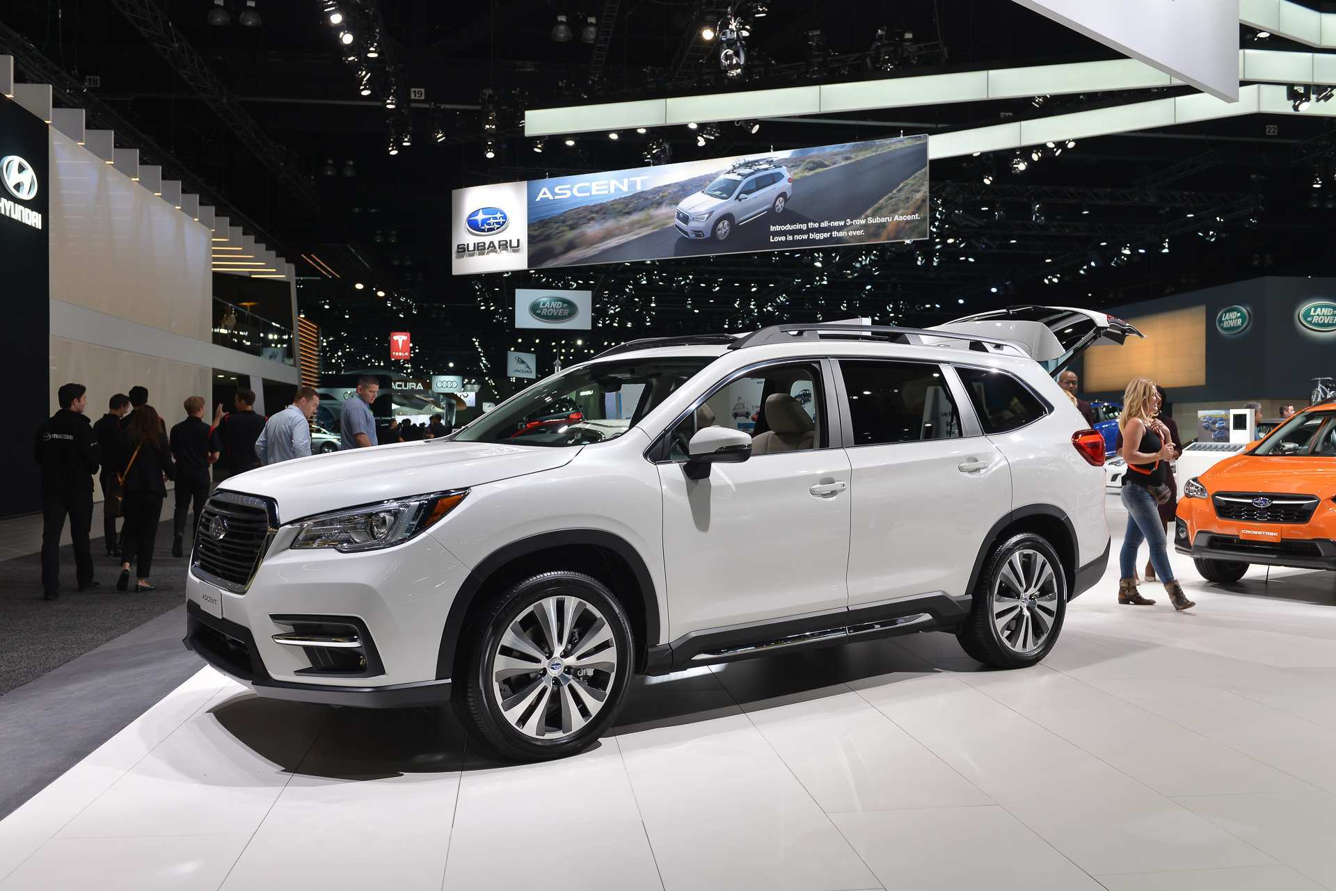 18 Concept of 2019 Subaru Ascent Video Ratings with 2019 Subaru Ascent Video