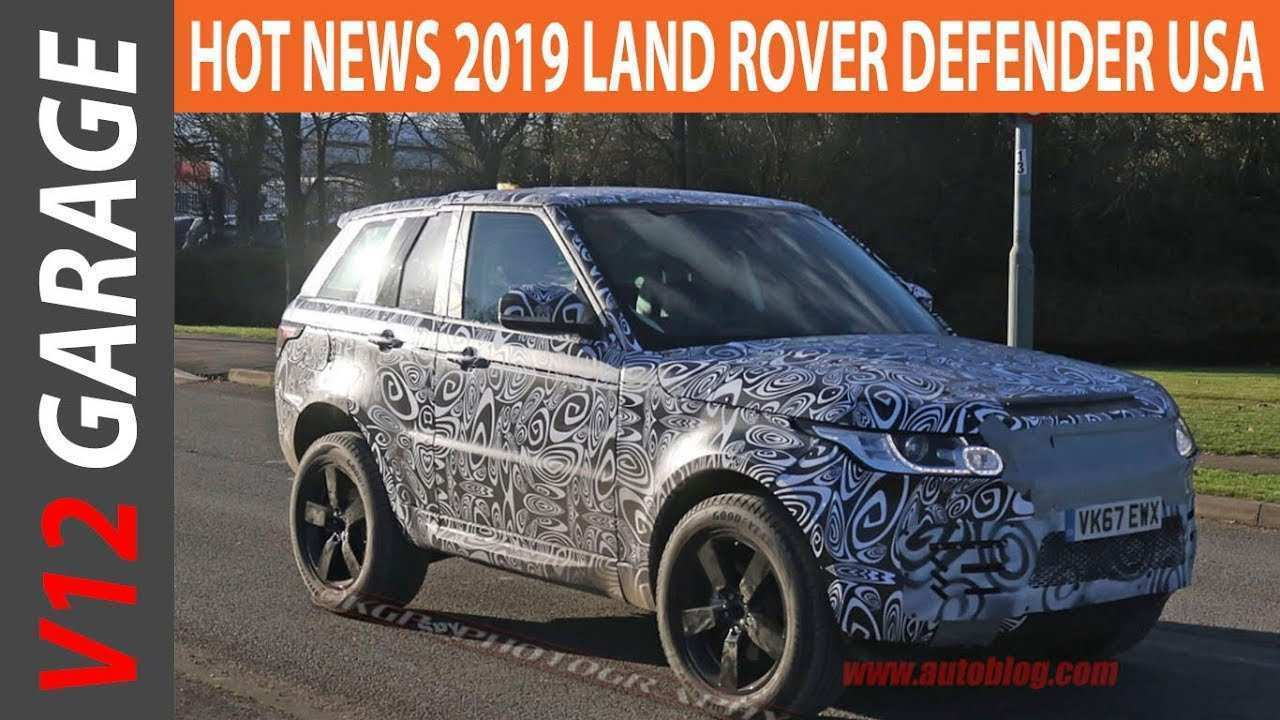 18 Gallery of 2019 Land Rover Defender Ute Specs with 2019 Land Rover Defender Ute