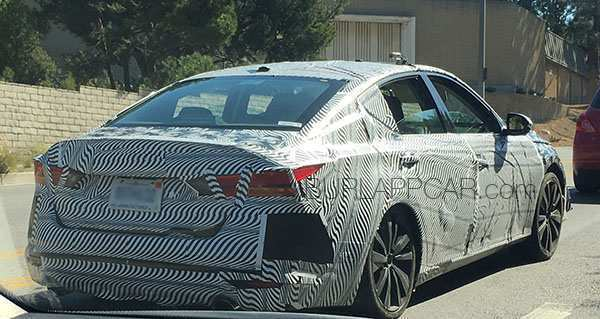 19 All New 2019 Nissan Altima Spy Shots Images by 2019 Nissan Altima Spy Shots