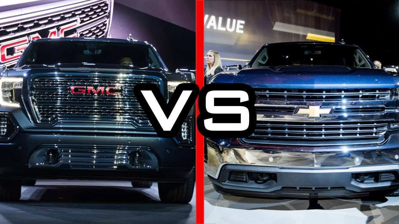 19 Best Review 2019 Gmc Vs Silverado Exterior with 2019 Gmc Vs Silverado