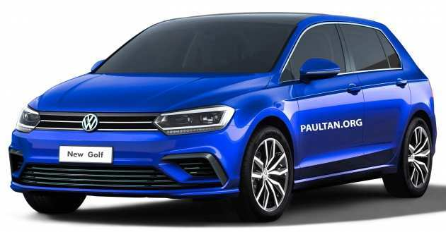 19 Concept of 2019 Vw Golf Mk8 Performance with 2019 Vw Golf Mk8