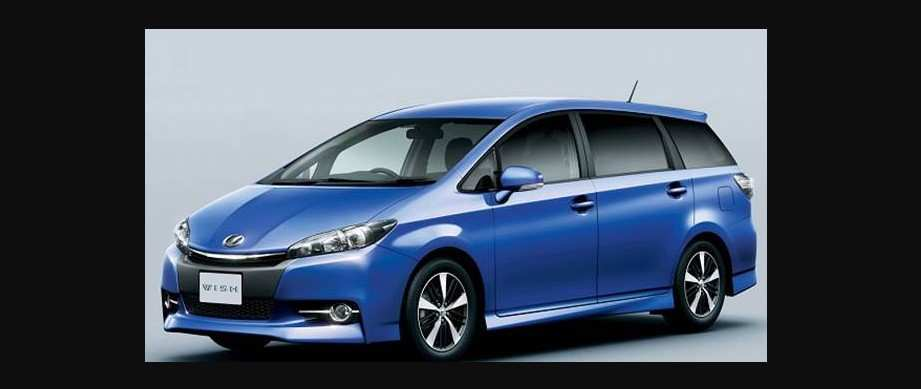 19 Great 2019 Toyota Wish Exterior and Interior for 2019 Toyota Wish