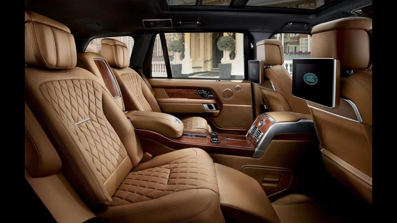 19 New 2019 Land Rover Interior Specs and Review with 2019 Land Rover Interior
