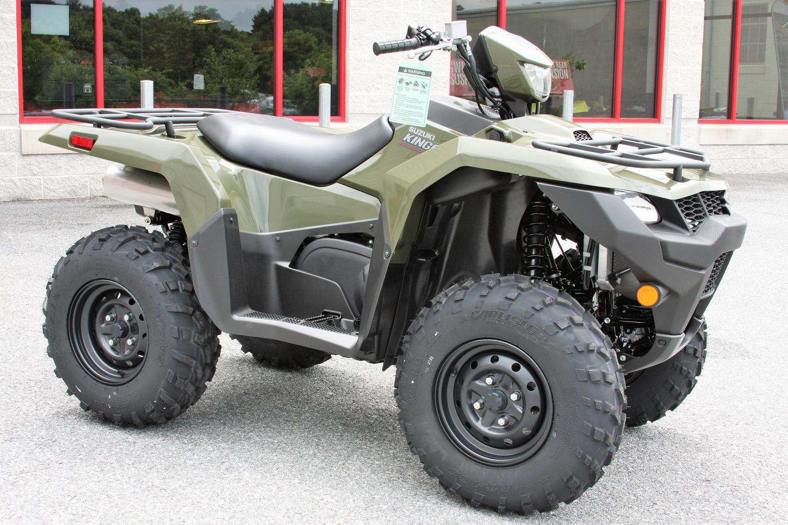 19 The 2019 Suzuki King Quad Review with 2019 Suzuki King Quad