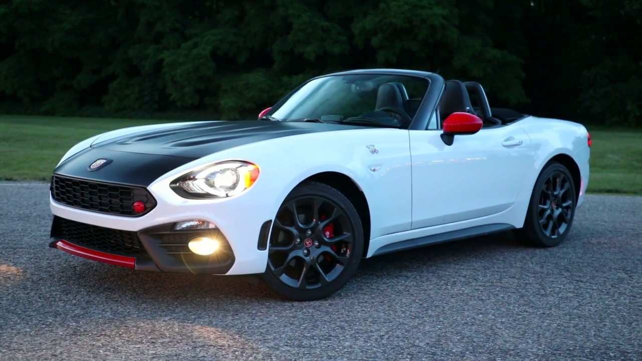 20 All New 2019 Fiat Abarth 124 Spider Redesign and Concept with 2019 Fiat Abarth 124 Spider