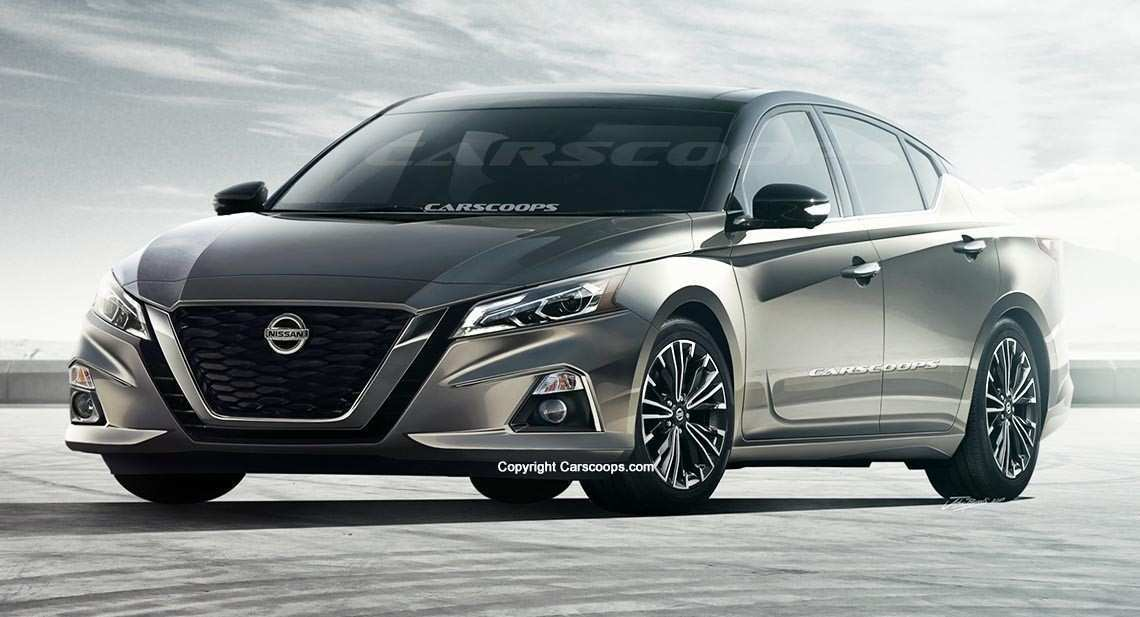 20 Concept of 2019 Nissan Altima Rendering Price for 2019 Nissan Altima Rendering