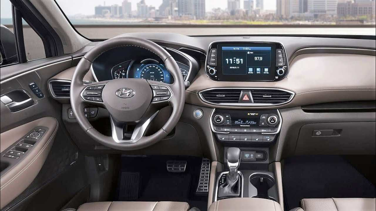 20 Great 2019 Hyundai Santa Fe Interior Performance for 2019 Hyundai Santa Fe Interior