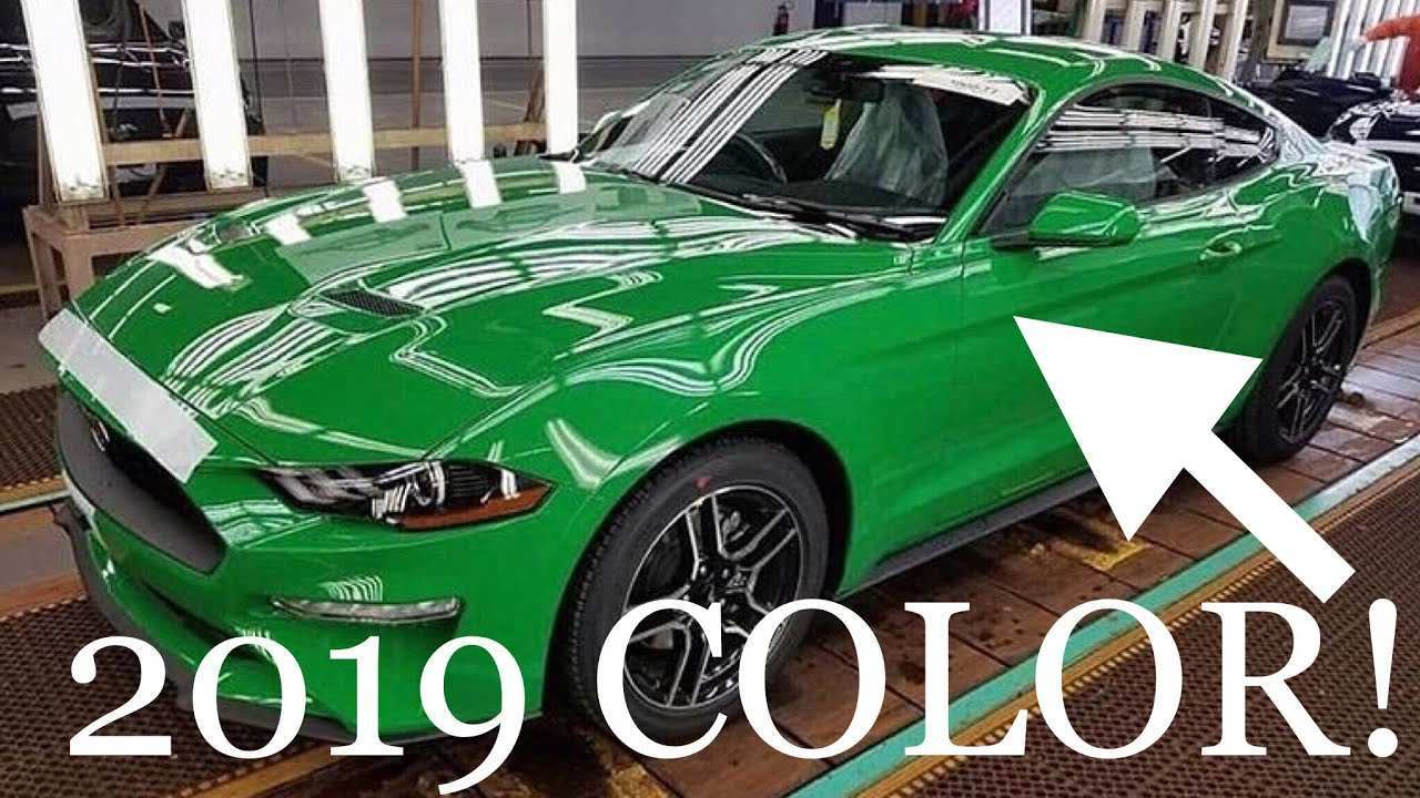 21 All New 2019 Ford Mustang Colors Engine by 2019 Ford Mustang Colors