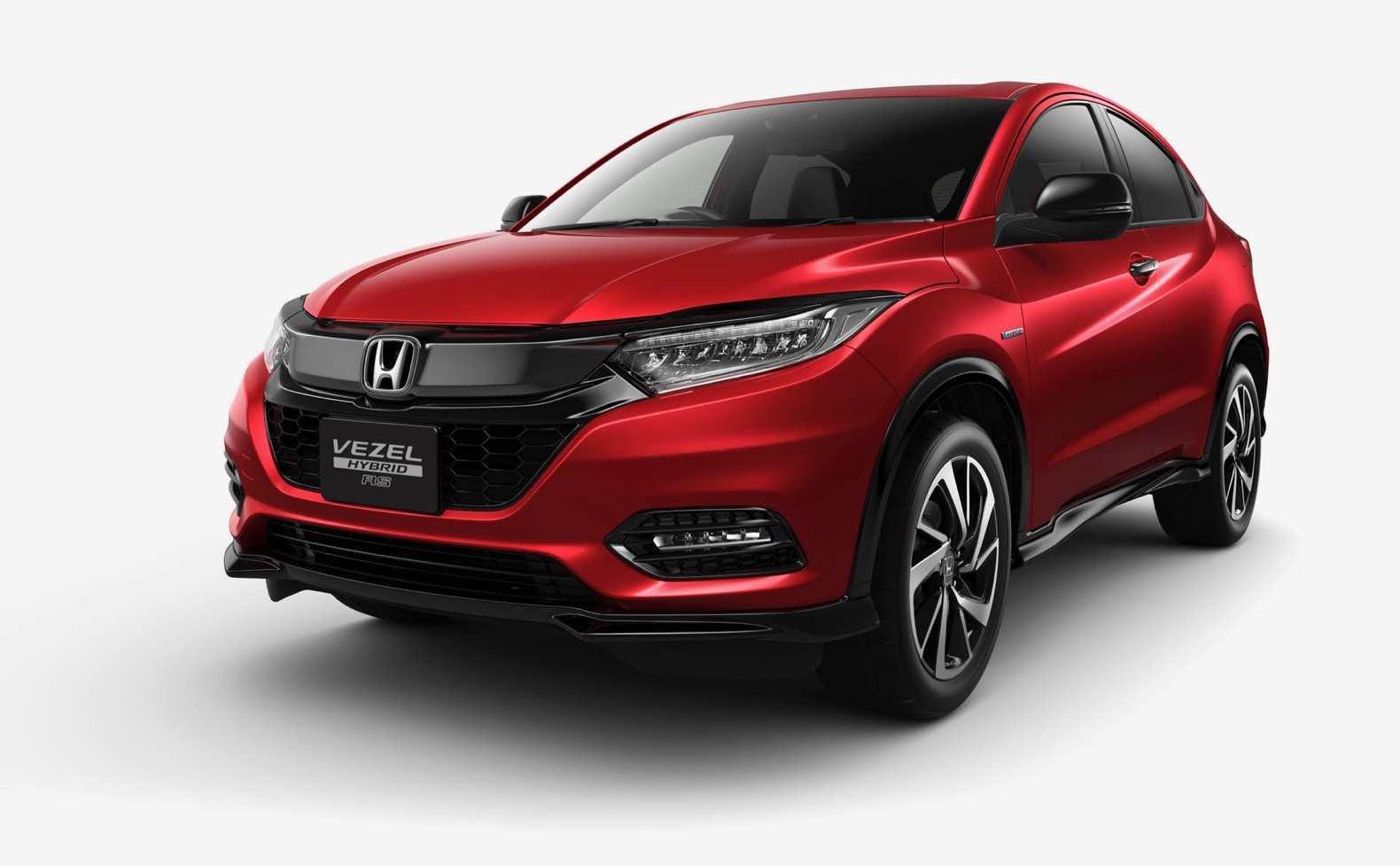 21 All New 2019 Honda Vezel Redesign and Concept for 2019 Honda Vezel