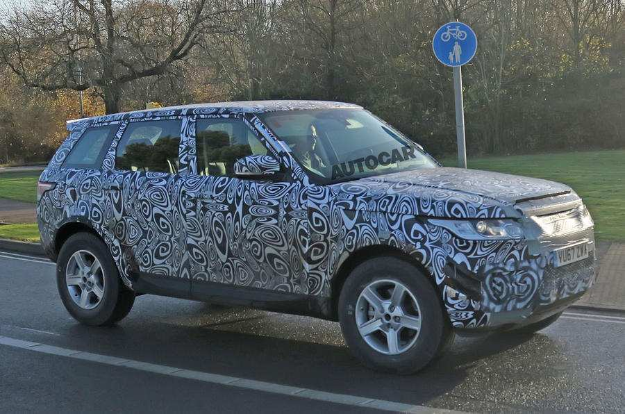 21 Best Review 2019 Land Rover Lineup Spy Shoot by 2019 Land Rover Lineup