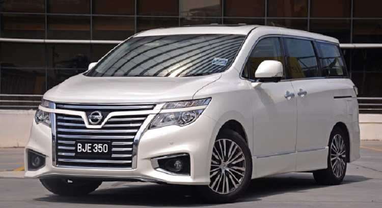 21 The 2019 Nissan Elgrand Exterior for 2019 Nissan Elgrand