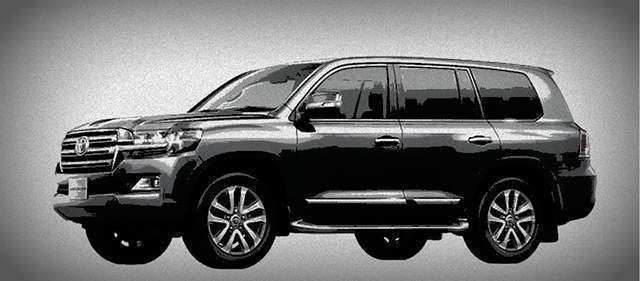 21 The 2019 Toyota Land Cruiser 300 Style with 2019 Toyota Land Cruiser 300