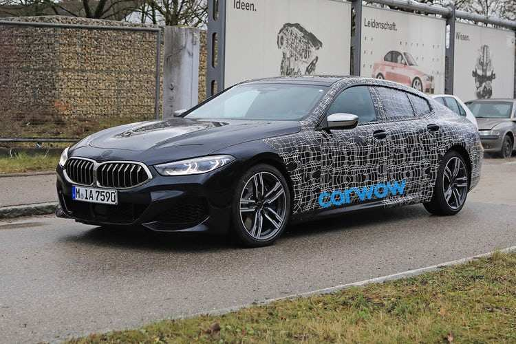 22 All New 2019 Bmw 8 Series Gran Coupe Spy Shoot for 2019 Bmw 8 Series Gran Coupe