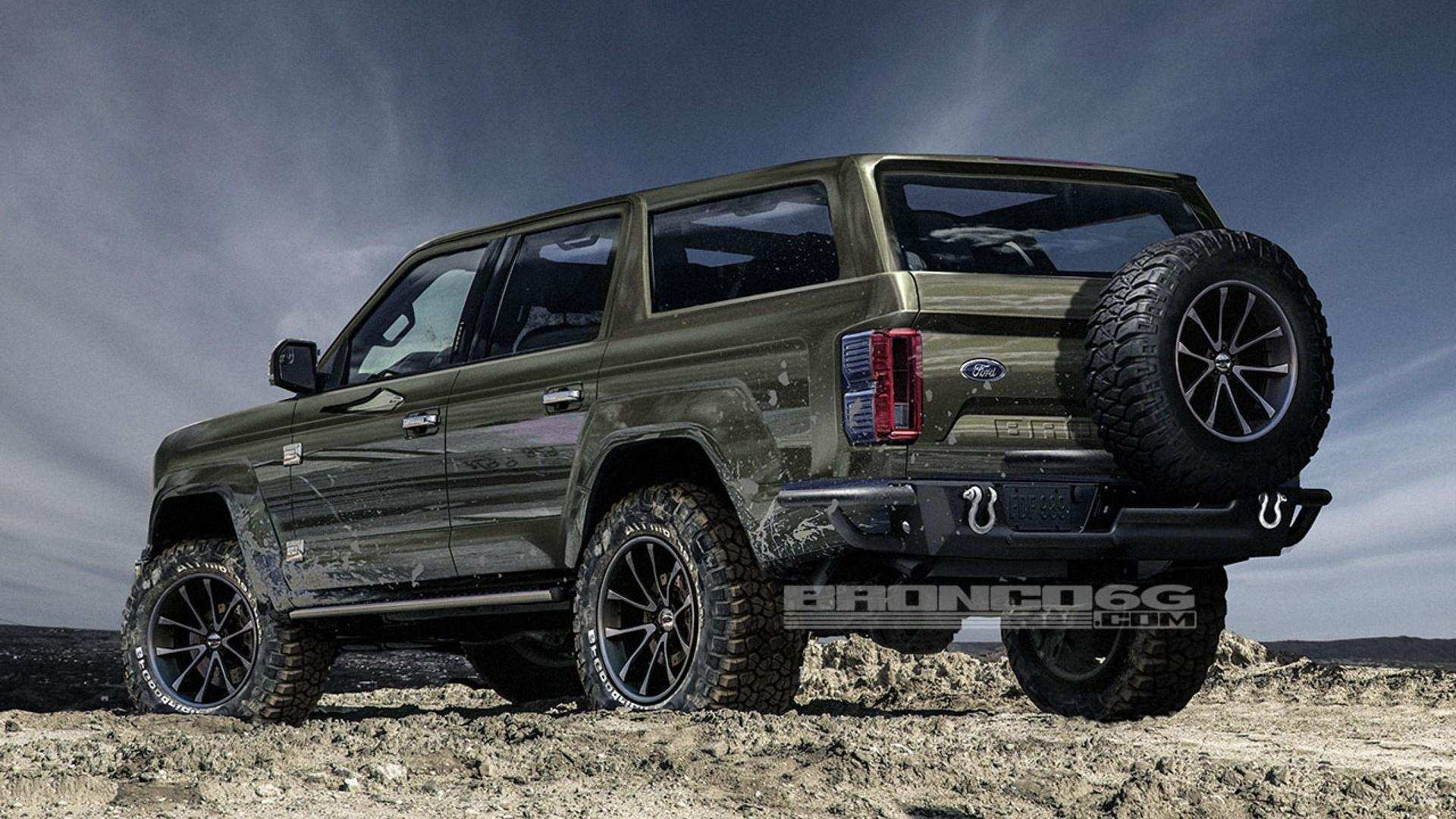 22 Concept of 2020 Ford Bronco 4 Door Price Exterior and Interior by 2020 Ford Bronco 4 Door Price