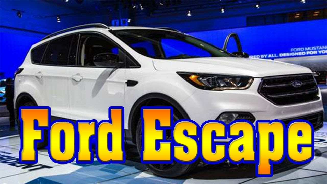 22 Great 2019 Ford Escape Release Date Specs by 2019 Ford Escape Release Date