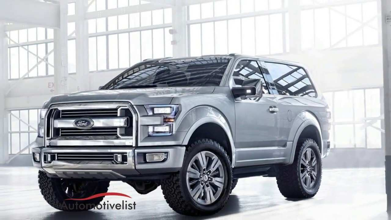 22 Great New 2020 Ford Bronco Specs First Drive by New 2020 Ford Bronco Specs