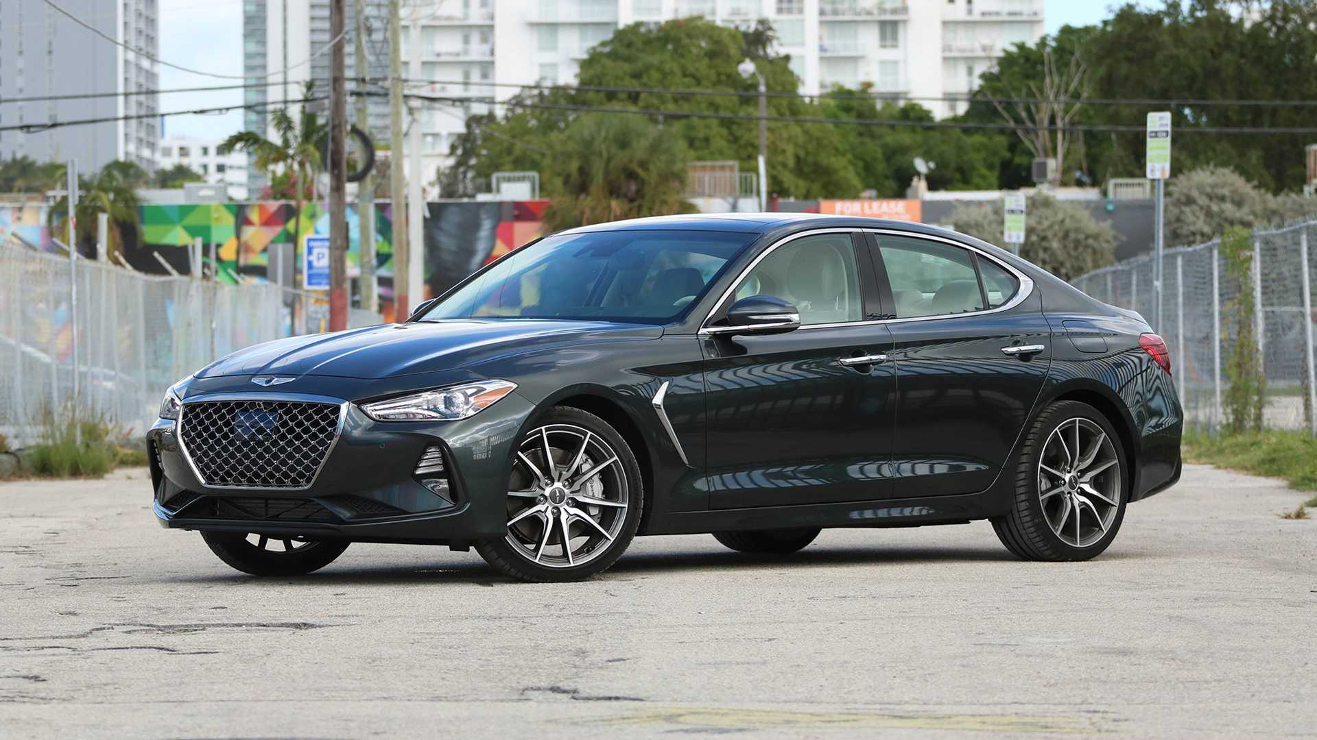 22 The 2019 Genesis G70 Review Exterior by 2019 Genesis G70 Review