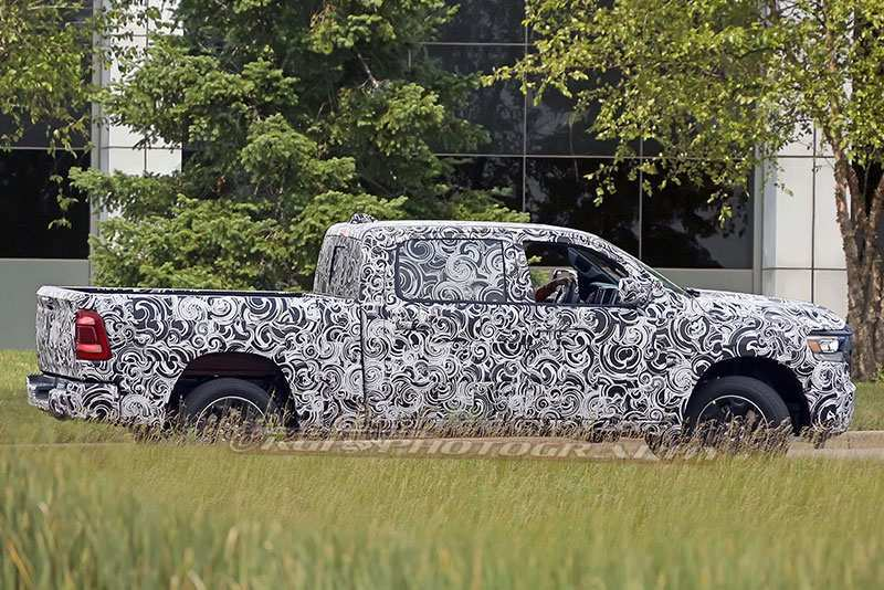 23 All New 2019 Dodge Ram Spy Shots Pictures by 2019 Dodge Ram Spy Shots