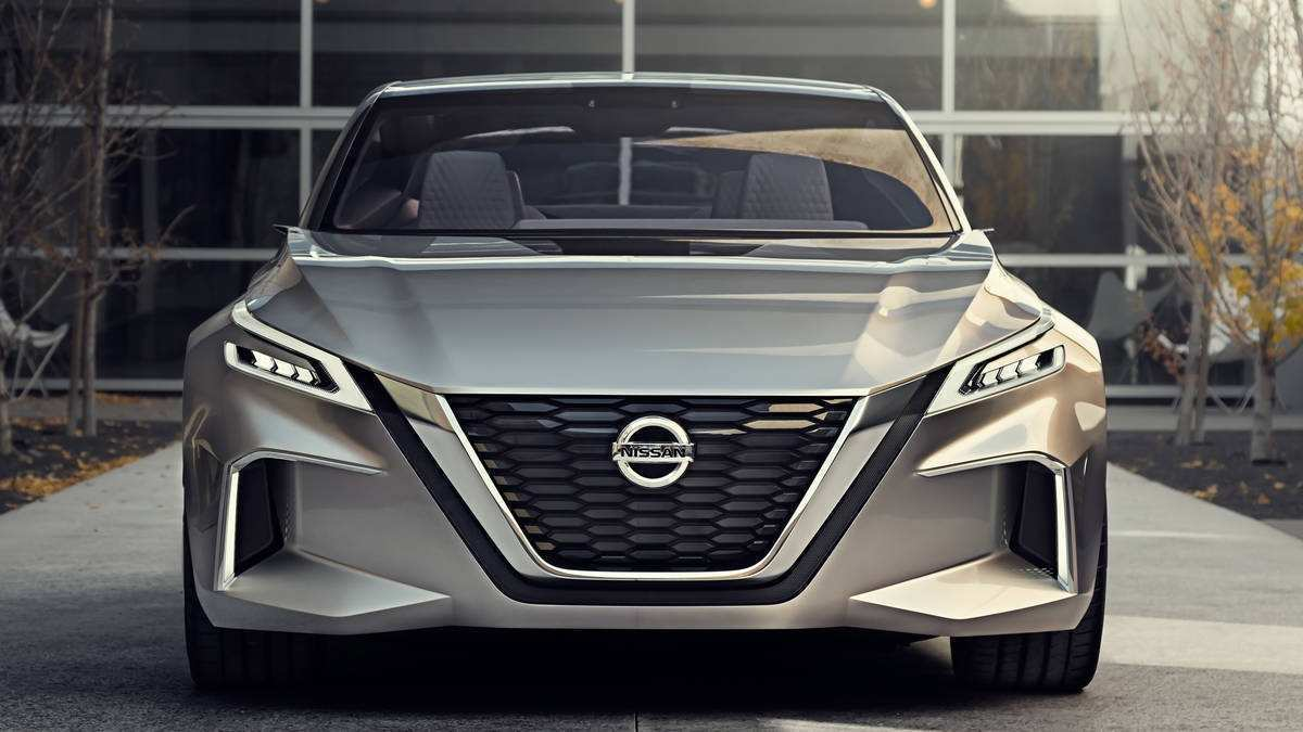 23 All New 2019 Nissan Altima Concept Overview with 2019 Nissan Altima Concept