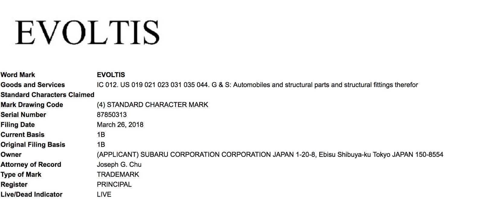 23 All New 2019 Subaru Evoltis Images for 2019 Subaru Evoltis