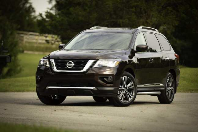 23 Gallery of 2019 Nissan Pathfinder Picture by 2019 Nissan Pathfinder