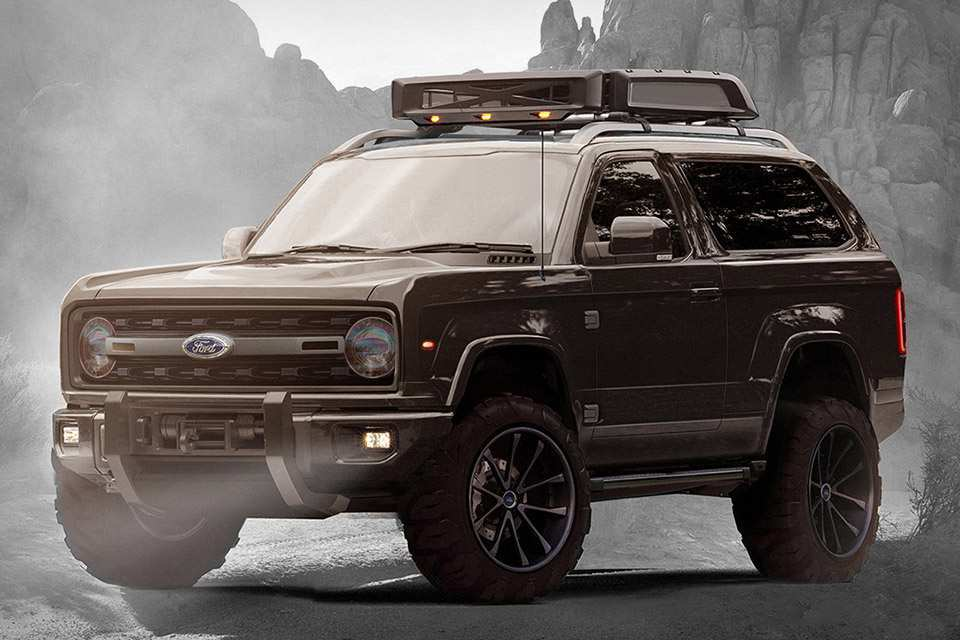 23 New 2020 Ford Bronco Lifted Exterior by 2020 Ford Bronco Lifted