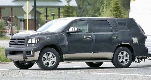 24 All New 2020 Toyota Sequoia Spy Photos Release by 2020 Toyota Sequoia Spy Photos