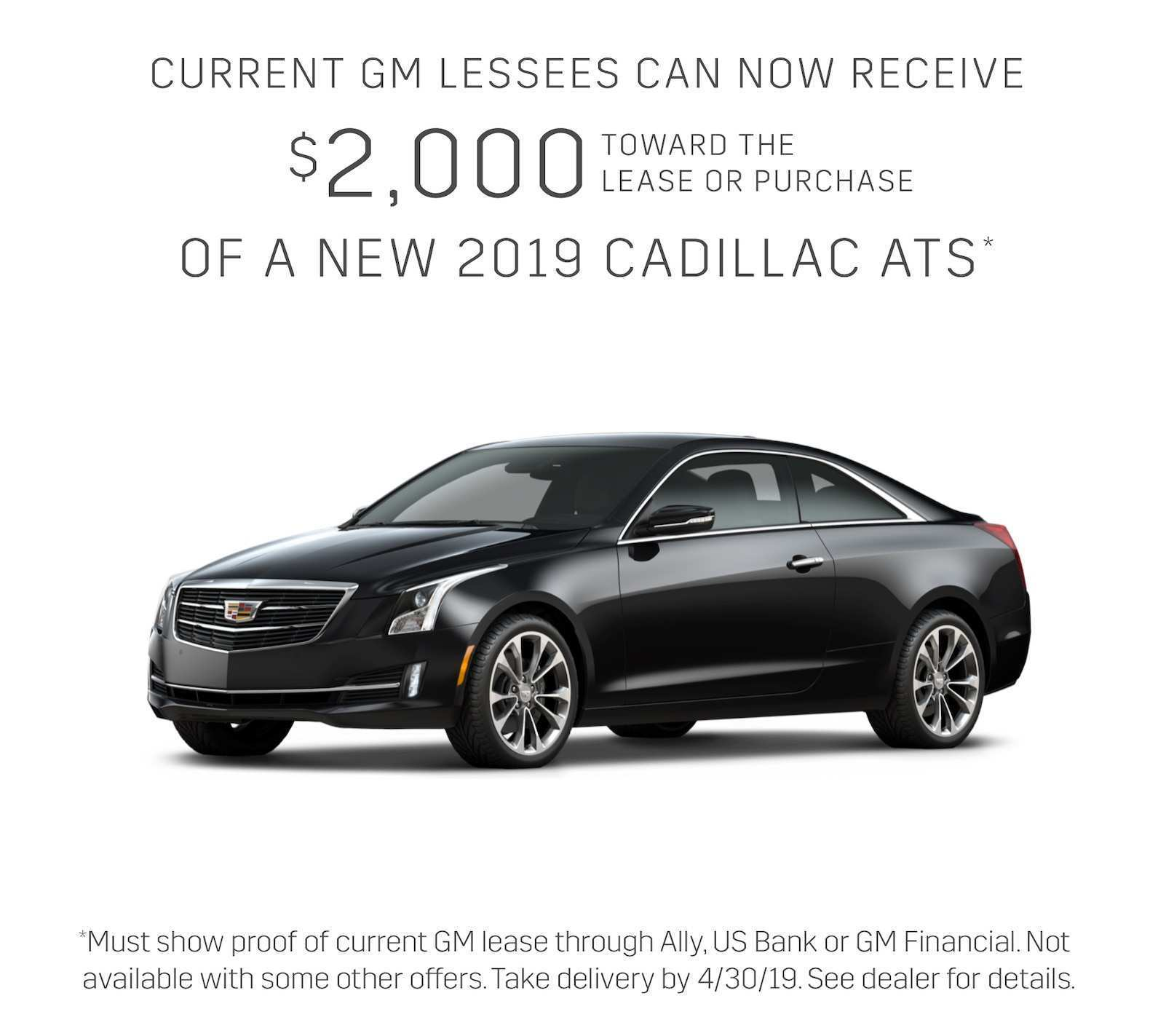 24 Great 2019 Cadillac Lease Picture for 2019 Cadillac Lease