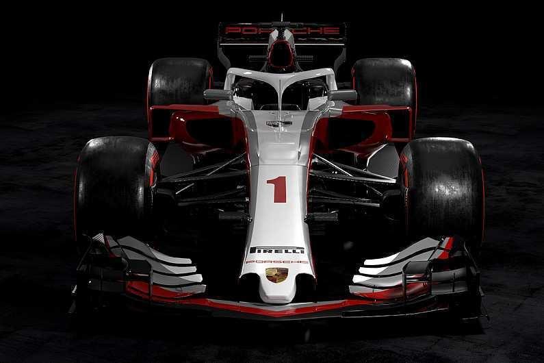24 New Porsche F1 2020 Spy Shoot with Porsche F1 2020