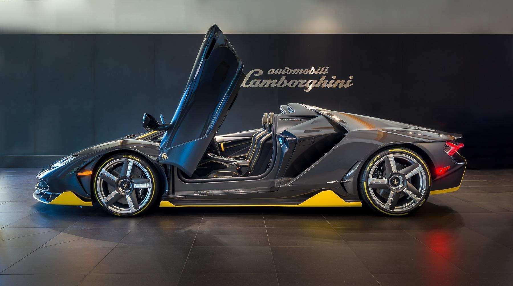 24 The 2019 Lamborghini Centenario Interior by 2019 Lamborghini Centenario