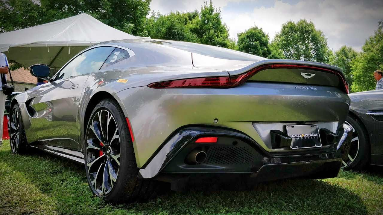25 Best Review 2019 Aston Martin Vantage Redesign and Concept by 2019 Aston Martin Vantage