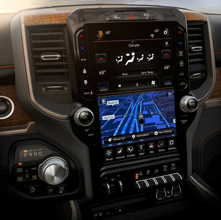 25 Concept of 2019 Dodge Touch Screen Redesign and Concept by 2019 Dodge Touch Screen