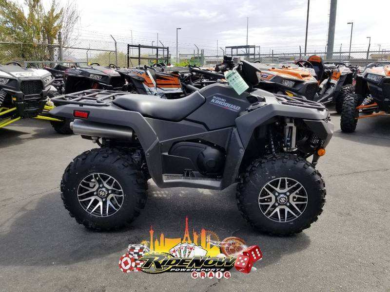 25 Gallery of 2019 Suzuki King Quad Spesification with 2019 Suzuki King Quad